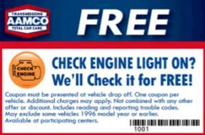 Free Check Engine Light Diagnostics