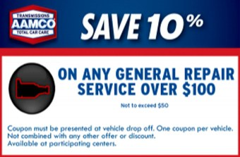 $100 off general repair over $100